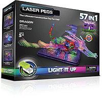 Laser Pegs (Лазер Пегс) Световая 3D панель Дракон, фото 1
