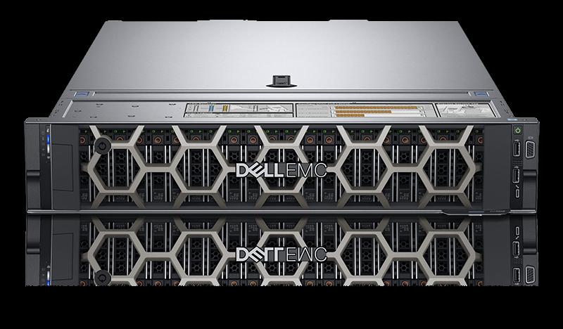 Сервер PowerEdge R740 1*Intel Xeon Silver 4114 2.2GHz,256GB, 2x600GB,NO OS, 3Y PS NBD 210-AKXJ-105