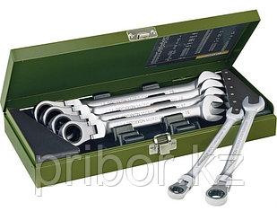 23124 Proxxon Набор комбинированных ключей с трещоткой и переключателем, 7шт. 8-19мм