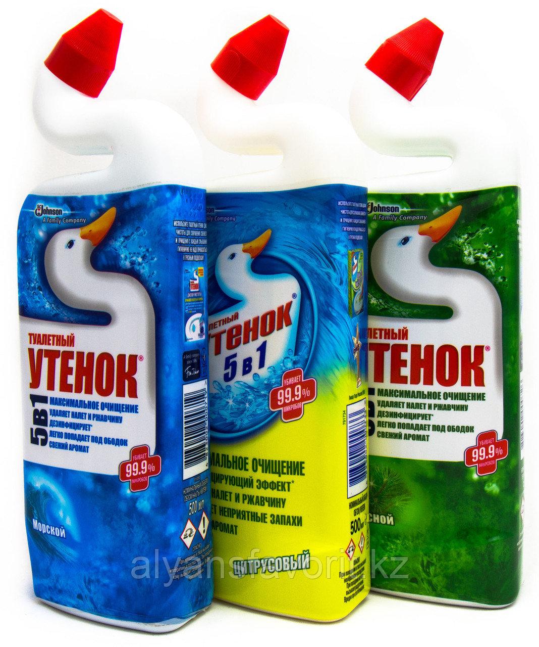 Туалетный Утенок -средство для мытья унитазов и сантехники. 500 мл.