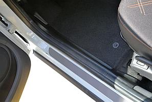 Накладки на ковролин (ABS) (2 шт) передние LADA Largus 2012-
