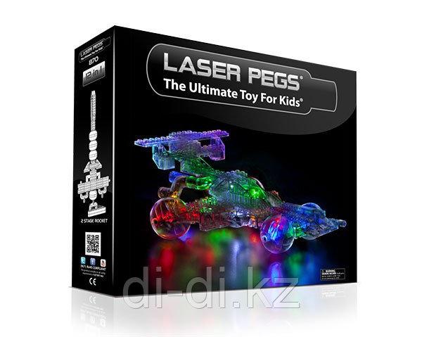 Laser Pegs (Лазер Пегс) Набор 12 в 1. Машина