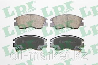 LPR Тормозные колодки, передние Mitsubishi Pajero 90-00, Delica 86-95