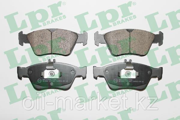 LPR Колодки тормозные MB (W202, S202, C208, W210, S210, R170) 2.0-2.8, фото 2