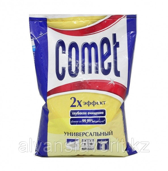 Comet - универсальный чистящий порошок. 400 гр. РФ