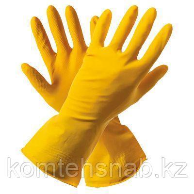 Перчатки хозяйственные латекс с х/б напылением