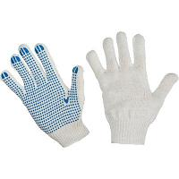 Перчатки х/б повышенной прочности 5-10 класс с ПВХ покрытием
