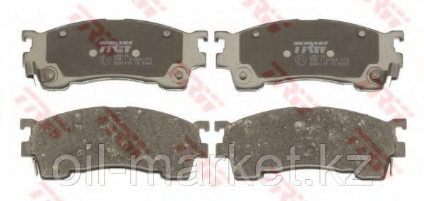 TRW тормозные колодки, передние Mazda 626 III (GD) (GV) (10/87-05/92), фото 2