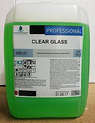 Clear Glass - средство для мытья окон и зеркал.(Эконом). 5 литров. РК