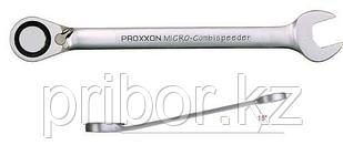 23137 Proxxon Ключ комбинированный с трещоткой и переключателем, 15мм