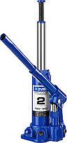 Домкрат гидравлический бутылочный T50, 2т, 180-347мм, в кейсе, ЗУБР Профессионал, фото 3