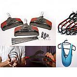 Универсальные вешалки для одежды ( Hula hanger ) 15шт, фото 4