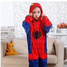 Детская пижама кигуруми человек-паук