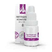 Пептидный комплекс-8 для печени. Натуральный.