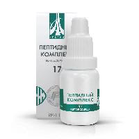 Пептидный комплекс-17 для зрительного анализатора. Натуральный.