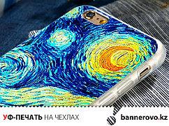 УФ-печать на чехлах для смартфонов