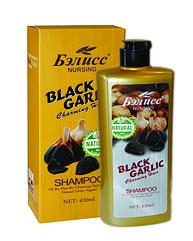 Бэлисс Nursing Black Capling - Шампунь с экстрактом черничного чеснока против выпадения волос