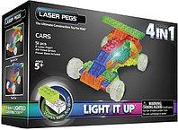 Laser Pegs (Лазер Пегс) Конструктор Гонка, фото 1