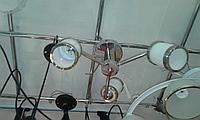 Люстра потолочная с 3 плафонами