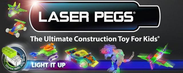 Конструкторы со светодиодами Laser Pegs (Лазер Пегс)