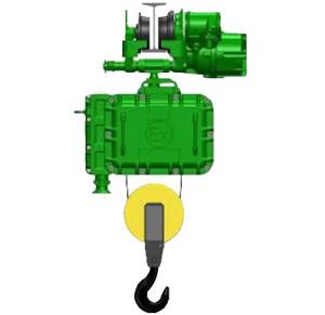 Таль электрическая взрывозащищенная TOR BT 5,0 т 36 м