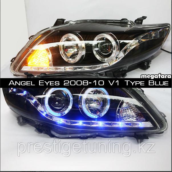 Передние альтернативная оптика на Corolla 2008-10 Type 1