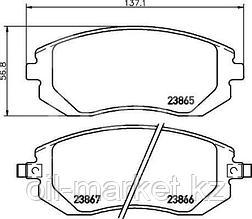 KASHIYAMA Колодки передние Subaru Forester SG/SH 2.0 >02, Legacy >02, Impreza >00, Outback >03
