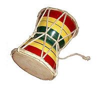"""Барабан дамру """"Растаман в плети"""""""