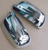 НАКЛАДКИ НА ЗЕРКАЛА ХРОМИРОВАННЫЕ VW GOLF 4, BORA, PASSAT B5, B5+ 97-03