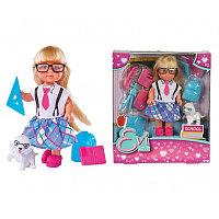 """Кукла """"Еви"""" - Школьные принадлежности"""