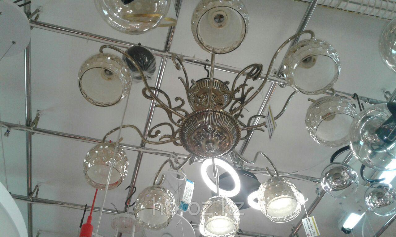 Люстра бронза с 8 плафонами