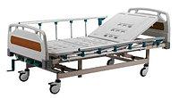 Кровать медицинская функциональная 4-х секционная, «MCF KM 04-03» - с регулировкой высоты, механическая