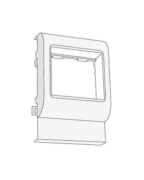 "DKC 10463 PDA-BN 120 Рамка-суппорт под 2 модуля ""BRAVA"""