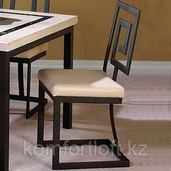 Металлический стул стиле Лофт