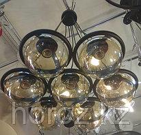 Люстра шары прозрачные 7 рожков