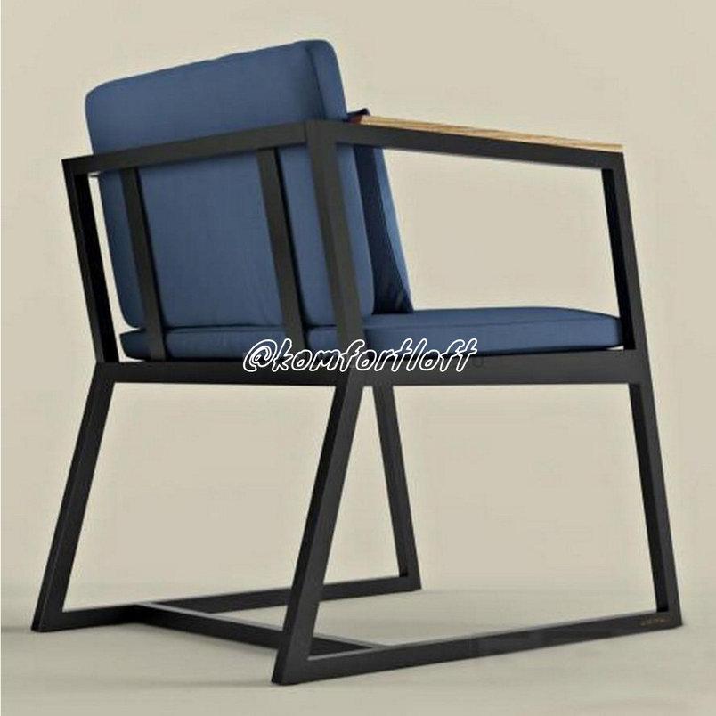 Кресло из металла в стиле Лофт, фото 2