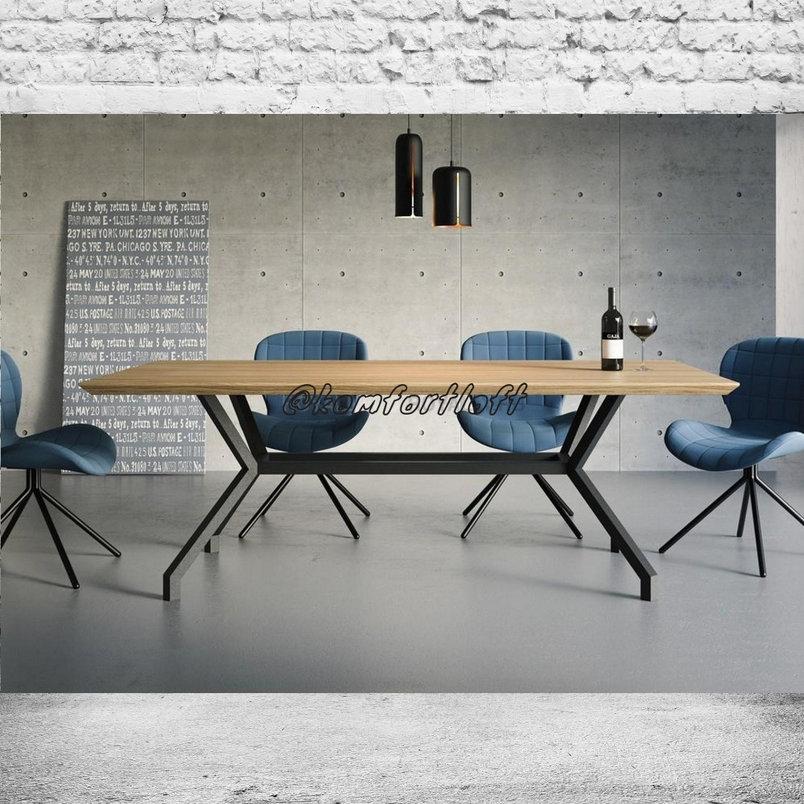 Обеденный стол в стиле Лофт, фото 2