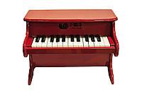 Детское пианино, 42*25*30 см, красный
