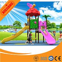 Большая игровая площадка с двумя горками, Китай