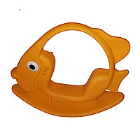 """Качалка детская """"Рыбка"""", жёлтая"""