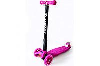 Самокат Scooter, розовый