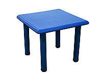 Детский стол, пластиковый (голубой)