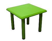 Детский стол, пластиковый (зеленый)