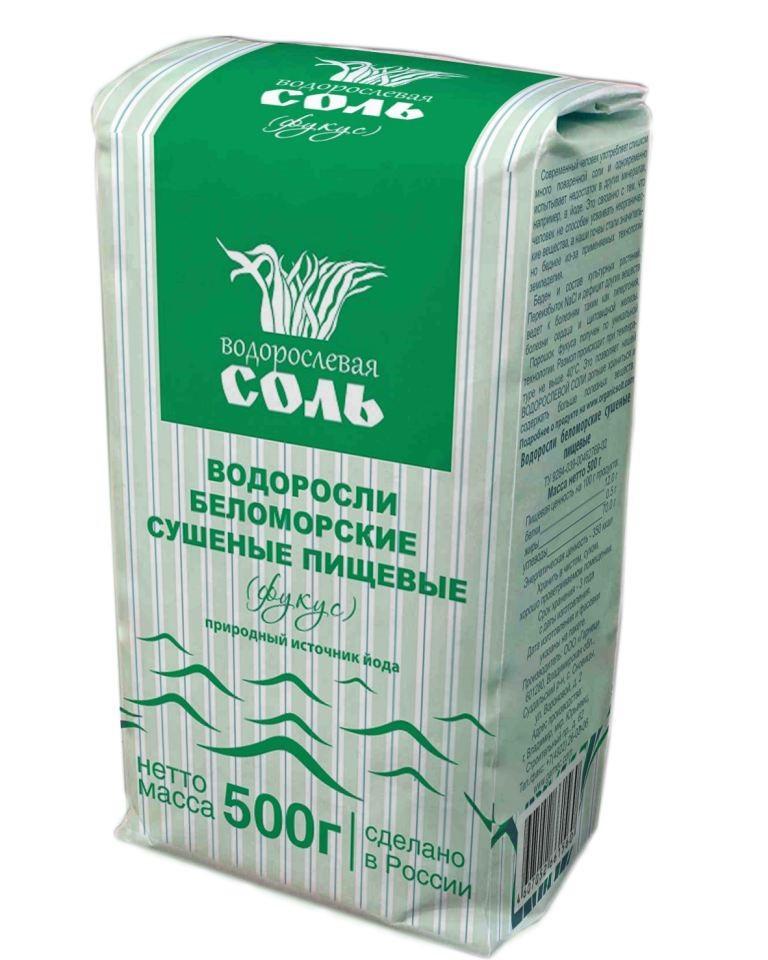 Водорослевая соль – Фукус