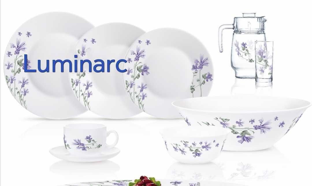 Столовый сервиз Luminarc Essence Alisier 46 предметов на 6 персон