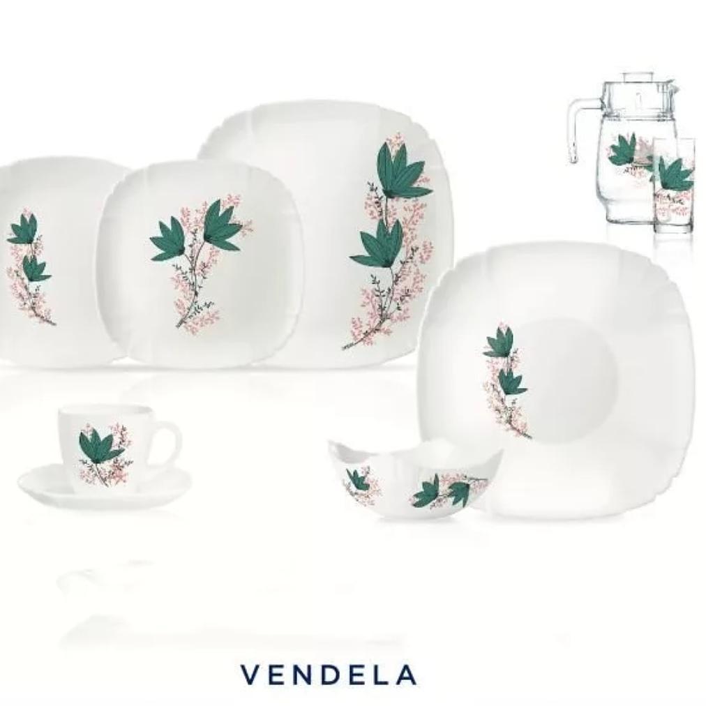 Столовый сервиз Luminarc Lotusia Vendela 46 предметов на 6 персон