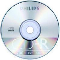 Диск CD-R  Philips 700Mb/80мин/48х