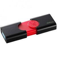 USB Флеш накопитель 32GB Kingston 3.0 DT106 (черный), фото 1