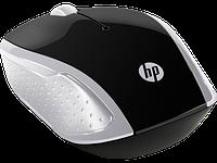 Оптическая беспроводная мышь HP 2HU84AA, 200 Pike Silver, 1000 dpi, USB, 2.4 ГГц, серебристый