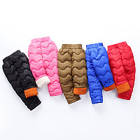 Балоневые штаны зимние детские